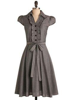 #dress #sleeves #modest #grey dresses