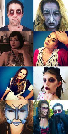 Halloween Makeup Looks at www.vanessamanel.com in Eagle Rock, CA. @Vanessamanel