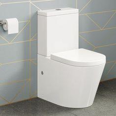 Lyon II Staand Toilet Compleet Met Spoelbak En Softclose Zitting 1