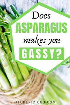 Does asparagus cause gas? Learn more about the side effects of eating asparagus and how to reduce gas from eating asparagus in this post. Foods For Healthy Skin, Most Nutritious Foods, Health Foods, Gut Health, Healthy Recipes, Non Bloating Foods, Gassy Foods, Foods That Help Digestion, Tea For Digestion