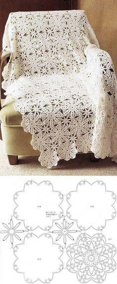 Crochet Blanket...♥ Deniz ♥