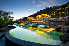 The Ultimate Luxury Getaway in Costa Rica: Andaz Peninsula Papagayo Resort Vacation Packages, Vacation Spots, Beach Resorts, Hotels And Resorts, Costa Rica, Places To Travel, Places To Go, Travel Destinations, Amazing Destinations