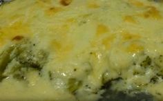 Receita de peixe ao molho branco com brócolis para a fase cruzeiro PL dukan.