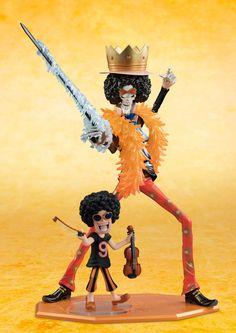 Figures Anime / Manga : One Piece Excellent Model Mild P.O.P CB-EX PVC Statue 1/8 Brook 13 cm ( Megahouse )