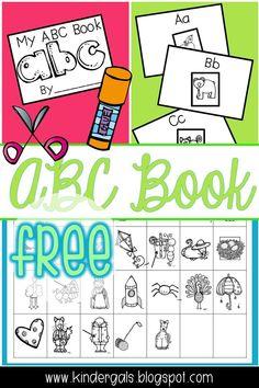 FREE ABC Book for pr