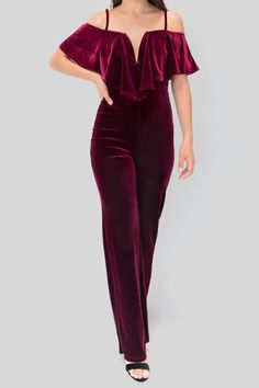 a3be393743c8 privy Velvet Olan Jumpsuit - Main Image Types Of Sleeves