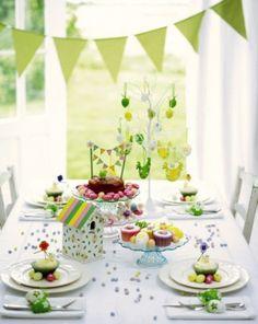 Ideas de Decoración de Mesa de Flores Deco juguetear Decoran guirnalda festiva