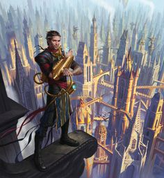 Ral Zarek and Dragon's Maze  by Eric Deschamps