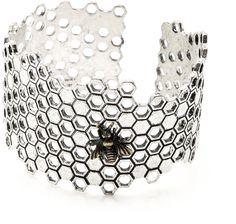 Antoine Accessories Whimsical Honeybee Cuff Bracelet