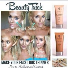 Use Younique's BB Flawless Complexion Enhancers, Moodstruck Minerals Concealers, and Brush Set to Highlight and Contour your Facial Features! Remember to use a shade 1-2 times lighter than normal for Highlighting and 1-2 shades darker for Contouring!