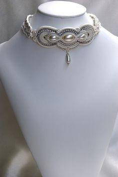 Bridal Soutache Choker   Flickr - Photo Sharing!