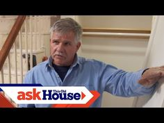 Ask This Old House general contractor Tom Silva shows a homeowner the proper way to install a pre-hung interior door for a closet. (See below for a shopping . Woodworking Projects, Diy Projects, Condo Remodel, Drill Driver, Interior Door, Old Houses, In The Heights, New Homes, Doors