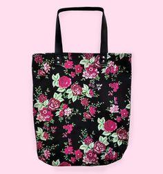 Sacola Floral  #tote #bag #handmade | La Zorayde