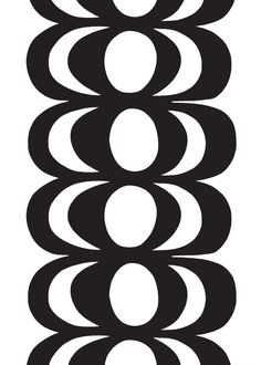 Shop durable cotton fabrics by Marimekko. Browse our unique selection of patterns and seasonal prints like Unikko and Kaivo for all of your fabric needs. Design Textile, Fabric Design, Pattern Design, Pattern Ideas, Pattern Art, Marimekko Fabric, Scandinavia Design, Types Of Curtains, Black And White Fabric