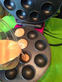 La Vie d'Une Gourmande: Le cake pop avec la machine à popcake !