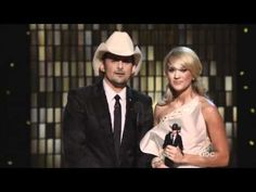 CMA Awards 2011 - Brad Paisley and Carrie Underwood Opening the show
