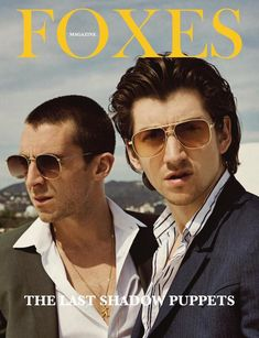 The Last Shadow Puppets x Foxes magazine, June Arctic Monkeys Wallpaper, Monkey Wallpaper, Monkey Puppet, Monkey 3, Alex Turner, Will Turner, Call Me Al, Just Deal With It, The Last Shadow Puppets