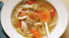 Everything you need to know about chicken soup, from Martha Stewart.