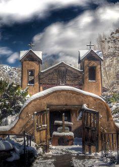 El Santuario de Chimayó, El Portero, New Mexico
