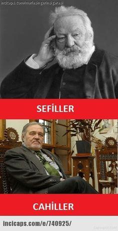Victor Hugo / İlber Ortaylı sefiller / cahiller