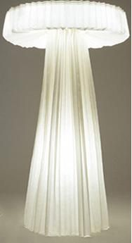 Paper lamp by Inga Sempé for Capellini