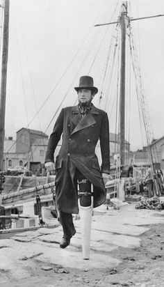 Gregory Peck / Captain Ahab / Moby Dick / 1954