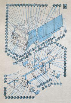 Auta z Dakaru, a Czech pamphlet of paper model truck plans by Richard Vyškovský