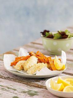 Michelle Bridges - fish and chips