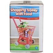 Shopping trolley with food $12 {Kmart}