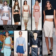 Crop Tops Keep Cropping Up - The Cut
