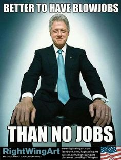 Bill Clinton knows about jobs...