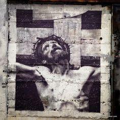 τέχνη του δρόμου στο Μεταξουργείο γειτονιά της Αθήνας
