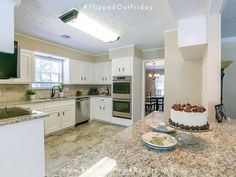 """This weeks edition of #FlippedOutFriday! There was just too much house for the remaining members of a """"grown-up"""" family in Spring. This 5 bedroom home - and Spanish-style apartment - was yearning for the attention it had once received! We received the distress call just under 3 months ago, and since then the team has completely enhanced the gorgeous features of this spacious home! Beautiful remodeled kitchen! Another success story for the books.  #homeinvestor #bigstate"""