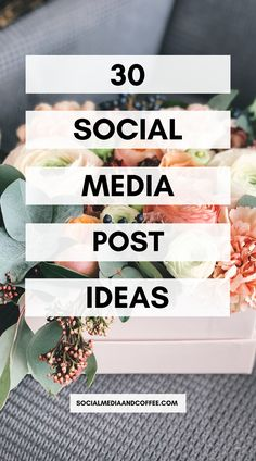 Would you like a full month of social media posts planned for you? Here are 30 post ideas that you can plug into your content calendar today! Social Media marketing | online business | Facebook marketing | Instagram marketing | Twitter | blog | blogging | entrepreneur | small business marketing | marketing ideas | social media tips | #marketing #Facebook #Instagram #Twitter #socialmedia #smallbusiness #entrepreneur #blog #blogging