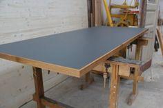 Tischplatten mit Linoleum - dein Tischler in Leipzig dein Tischler in Leipzig