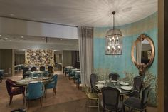 Amongst a wide range of colors, shapes, textures and fine materials, Boca do Lobo and Brabbu created a very special ambiance that embodies the essence of the city of St. Petersburg and gives guests a unique luxury dining experience. http://bocadolobo.com/blog #luxurylifestyle #luxuryhotels
