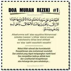 Doa murah rezeki Motivational Quotes, Funny Quotes, Life Quotes, Inspirational Quotes, Doa Islam, Islam Quran, Prayer Verses, Quran Verses, Islamic Love Quotes