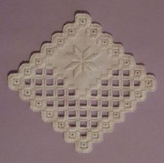 Free Hardanger Patterns from Nordic Types Of Embroidery, Learn Embroidery, Embroidery Patterns, Hand Embroidery, Hardanger Embroidery, Cross Stitch Embroidery, Cross Stitch Patterns, Drawn Thread, Satin Stitch