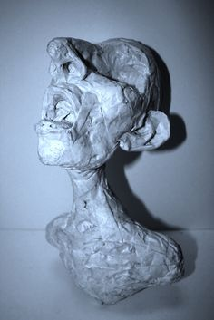 can you believe he made this out of masking tape? ugh! some people are so talented it just makes me sick!