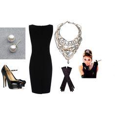 """Audrey Hepburn"" by sebrunn on Polyvore #fashion #audreyhepburn"