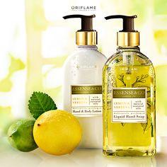 Mantén tus manos siempre limpias e hidratadas con la combinación de aceites de limón y verbena, ¡su delicado aroma cítrico te enamorará!