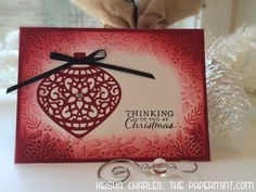 New Post at The PaperMint! Christmas Cards
