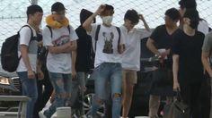[Fancam] 160729 BTS 방탄소년단 at ICN Airport