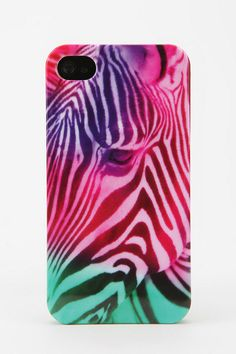 Urban Outfitters - Fun Stuff Zebra iPhone 4/4S Case