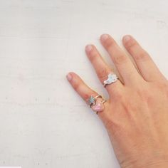 #pairs of rings  #handpainting  #silver #gold #pearls #stones #spilla  # pins – #collection FORMA & MATERIA www.judesign.eu