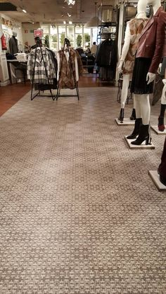Project made with #Emotile for Cortefiel. Our tiles were placed on the floor of two flagship stores in Madrid and Barcelona.