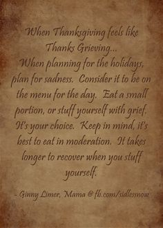 quote/thoughts on Holiday Grief..positive thinking.SIDS awareness