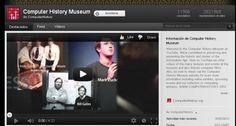 Canal en YouTube del Computer History Museum.-