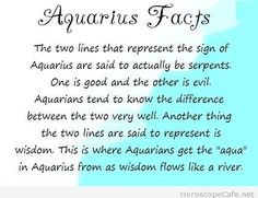 Aquarius Rising + Mercury.
