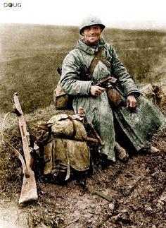 'Poilu' Frances en Verdun